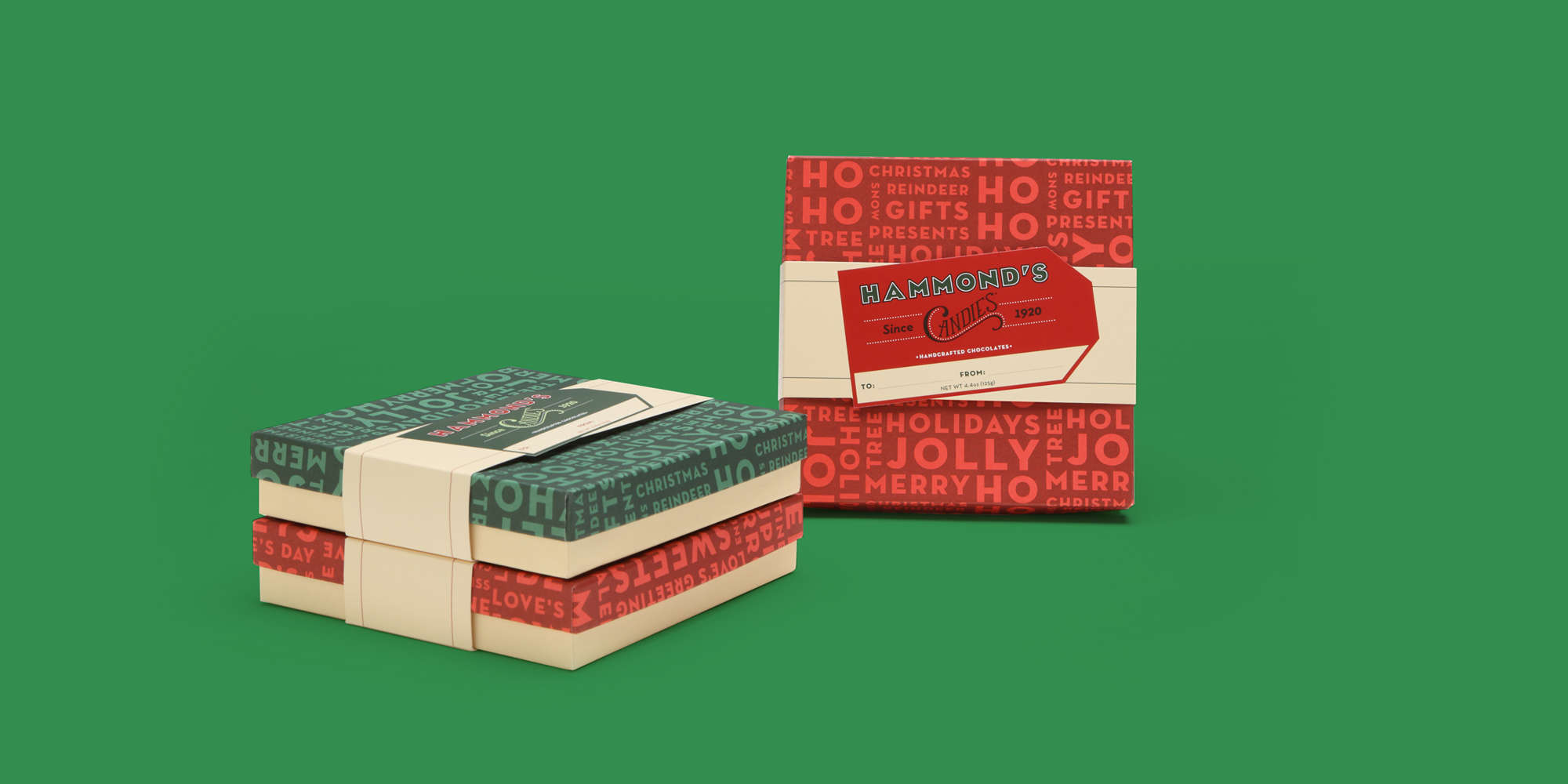 Hammond's Holiday Gift Boxes