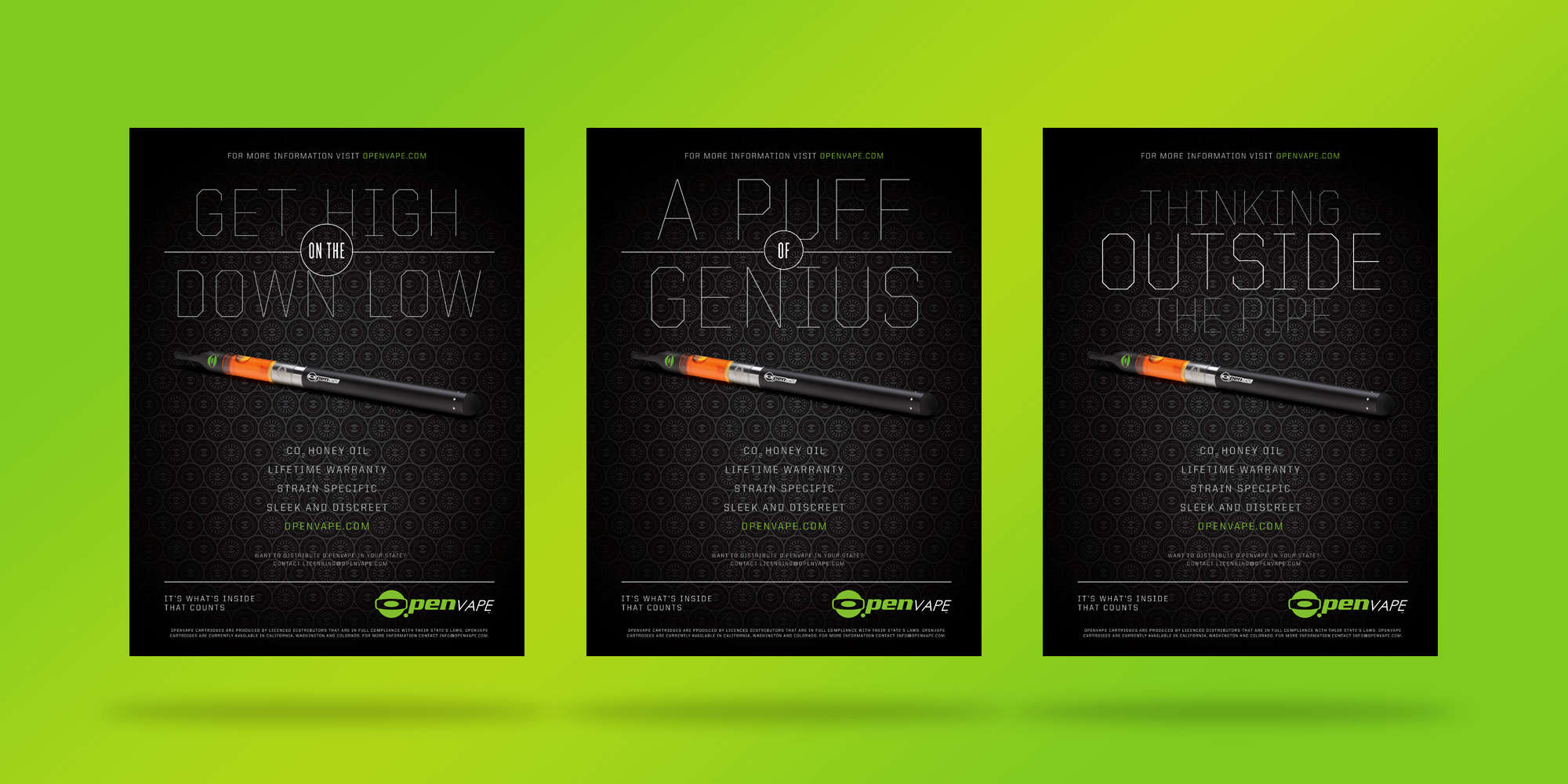 O.Pen Vape Ads